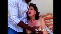 Aged housewife doing big black guy