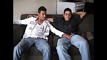 Hot latin guys suck each others pito and then fuck their tight culos with their