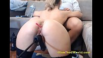 Camgirl Gets fucked by Machine *** www.girls4cock.com\/siswet19 ***