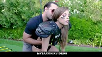 MYLF -Sexy Athletic Milf Plays With Balls's Thumb