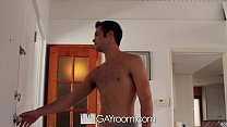 HD GayRoom - Threesome with the delivery guy