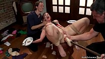 Sub trainer teache husband to fuck wife