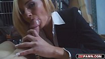 Hottie chick loves to suck and ride meaty hard pole