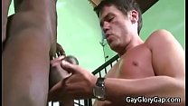 Gay Interracial Dick Sucking And Nasty Handjob ... />