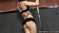 Asphyxia Noir takes black cock at Gloryhole - 9Club.Top