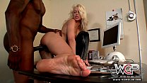 WCPClub Stunning blonde Annika Albright housewife cuckold with a big black man preview image