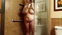 Bbw huge tit wife fucked in the shower  2 Thumbnail