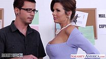 Stockinged Veronica Avluv fuck in the office Image