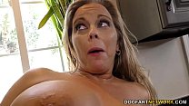 Amber Lynn Bach gets gangbanged and creampied by BBCs thumbnail