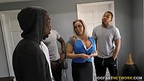 13871 Amber Lynn Bach gets gangbanged and creampied by BBCs preview