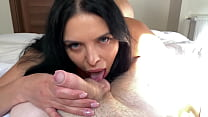 Kira Queen fuck her fan and let him cum inside of her pinky pussy