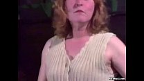 Granny gets screwed hard in the ass video