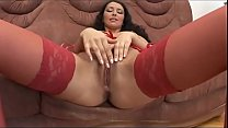 Cute Whore In Red  Wants Something Big In Her Ass!