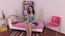 Attractive teen getting permeated by dirty favourable man