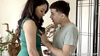 Latina big tits stepmom sucking off stepson