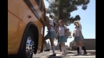 School girl in a bus preview image