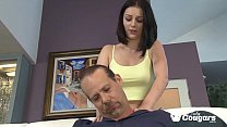 Amanda Lanes Has Her Asshole Licked By Step Daddy's Thumb