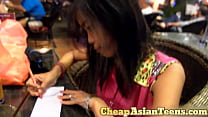 Image: Picking up and getting blowjob from Cambodian girl - CheapAsianTeens.com