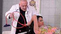 Beautiful French Girl Fucked good in Clinic Pt. 1