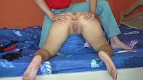 spanked to tears and anal fucked by mature milf