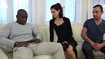 Cuckold Training Wife fucks black man in front ... Thumbnail