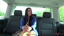 Eveline Dellai visit our van full of nasty dudes and enjoy the fuck