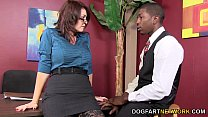 bonporn - Charlee Chase Makes A Black Guy Fuck Her thumbnail