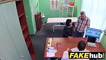 Image: Fake Hospital Czech doctor cums over horny cheating wifes tight pussy