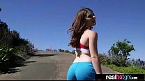 Superb GF (alice March) Like To Show On Cam Her...