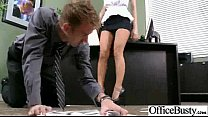 Sex In Office With Big Round Tits Naughty Hot G...