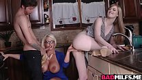 15087 Dylan Snow cock feeding Dolly Leigh and Alura Jensen! preview