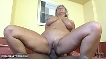 Fat mature really hot craving black cock in her pussy thumbnail