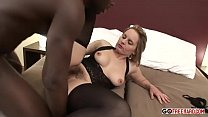 Sexy Magda Getting Interracial With Joachim On Bed