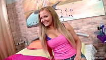FirstAnalQuest.com - ANAL XXX WITH A STUNNING BIG TITS BLONDE FIRST TIMER - download porn videos