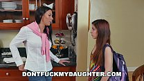 DON'T FUCK MY DAUGHTER - Rachel Starr & Bruno Fuck Teen Sally Squirt