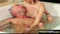 slippery massage with happy end 20 - Download mp4 XXX porn videos