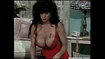 Gorgeous busty mature babe gets wet