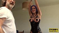 Euro BDSM sub analfucked as punishment