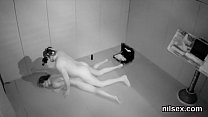 Hot chick is taken in anal asylum for uninhibited treatment
