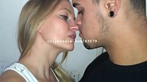 Raphael and Diana Kissing Video2 Preview