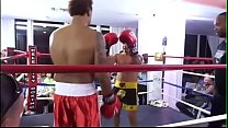 REAL FIGHTS BRUTAL BODY BLOWS BOXING MATCH Image