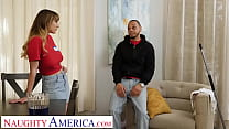 Naughty America - Angel Youngs fucks friend's man for extra pay