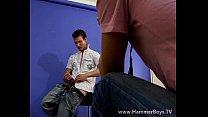 Unexpected hot gay experience in atelier from Hammerboys TV