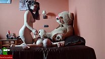The furry teddy  bear wants to see live sex CR see live sex CRI036