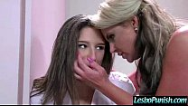 Cute Girl Get Punish With Dildos By Mean Lesbo movie-26