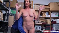 Brunette milf fucked by store security Thumbnail