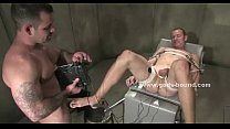 Gay sailor gets tied up and sucked