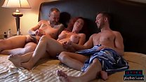 Open minded amateur couple look for a threesome experience - download porn videos