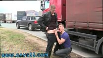 Guy jerking off cums in public place gay Dudes Have Anal Sex In-Town