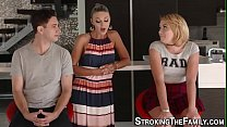 Teen stepsister gets cum preview image